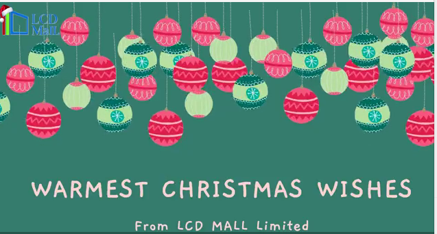 Seasons greetings from LCD MALL Limited