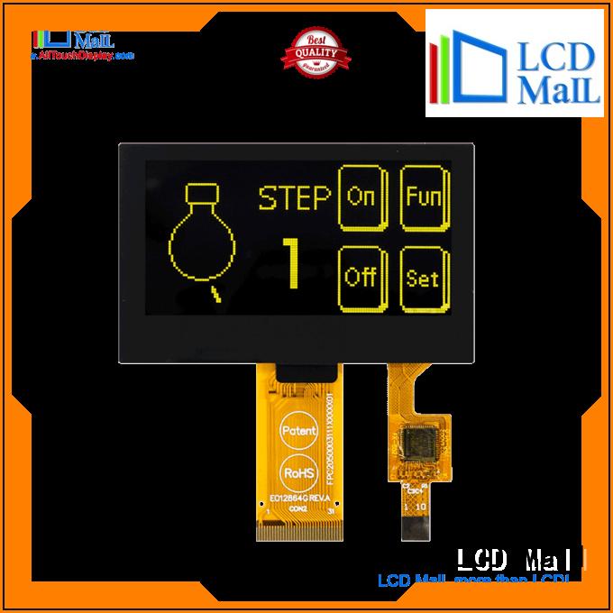 LCD Mall oled display modern design cameras