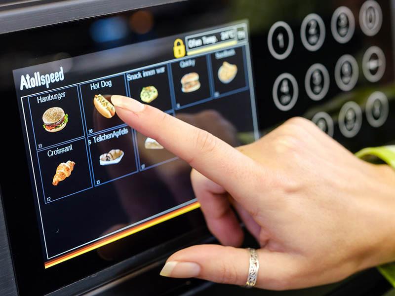 Oven LCD Display