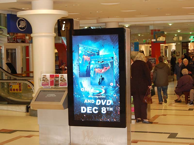 Oled Lcd Display For Shopping Mall Digital Advertising