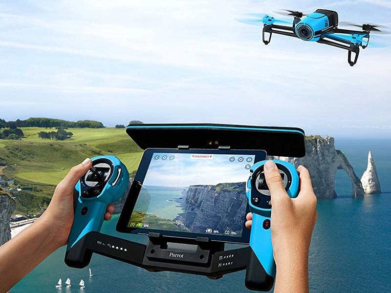 Touch Screen with UAV Controller