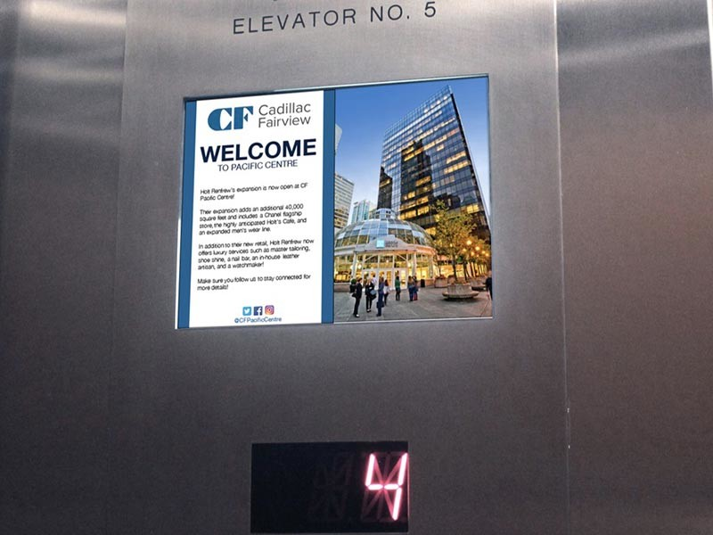 Tft Lcd for Elevator