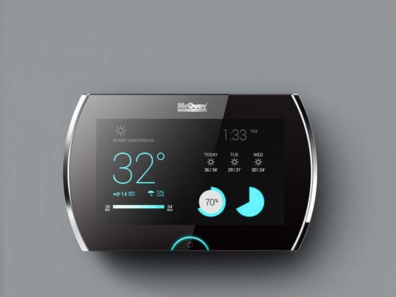 LCD Display for Thermostat