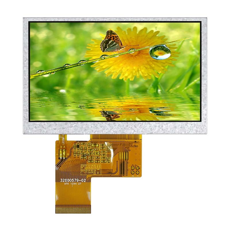 Transflective TouchScreen 4.3 Inch 24-BIT RGB Lcd Panel TFT Lcd Module USB Power Lcd Monitor for Fingerprint Identify