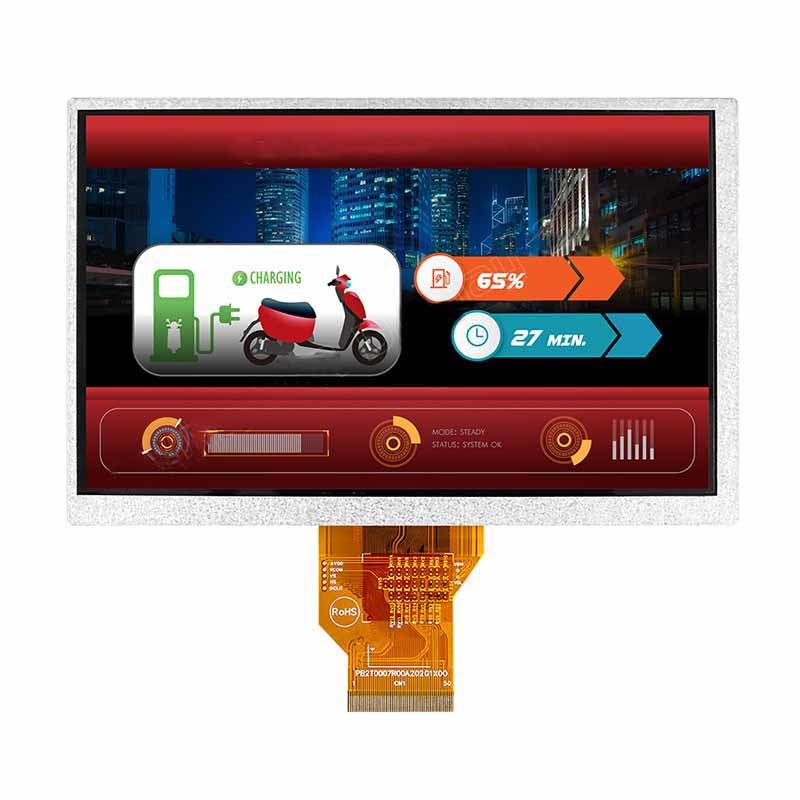 7 inch LCD tft 800x480 capacitive touch display panel for Home Application/Household appliances