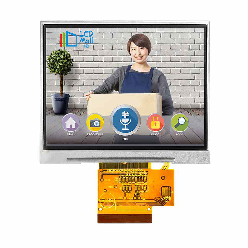 3.5 inch industrial hvga 320x480 IPS tft lcd panel touch screen diy display module