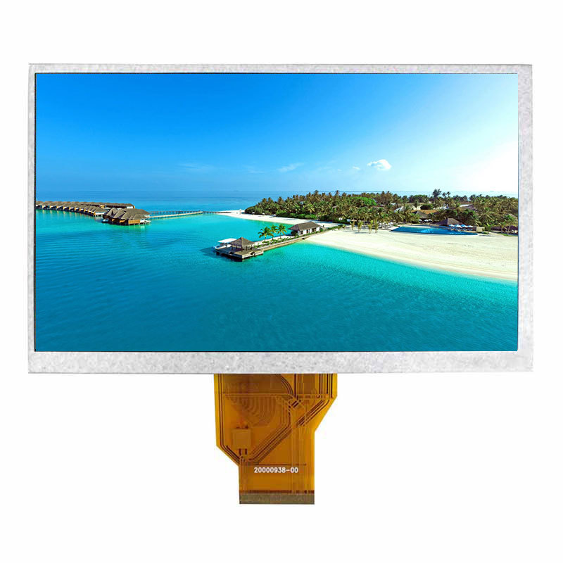 7.0 inch TFT LCD touch panel display LCD Panel featured 800*480 with LVDS Interface RGB interface