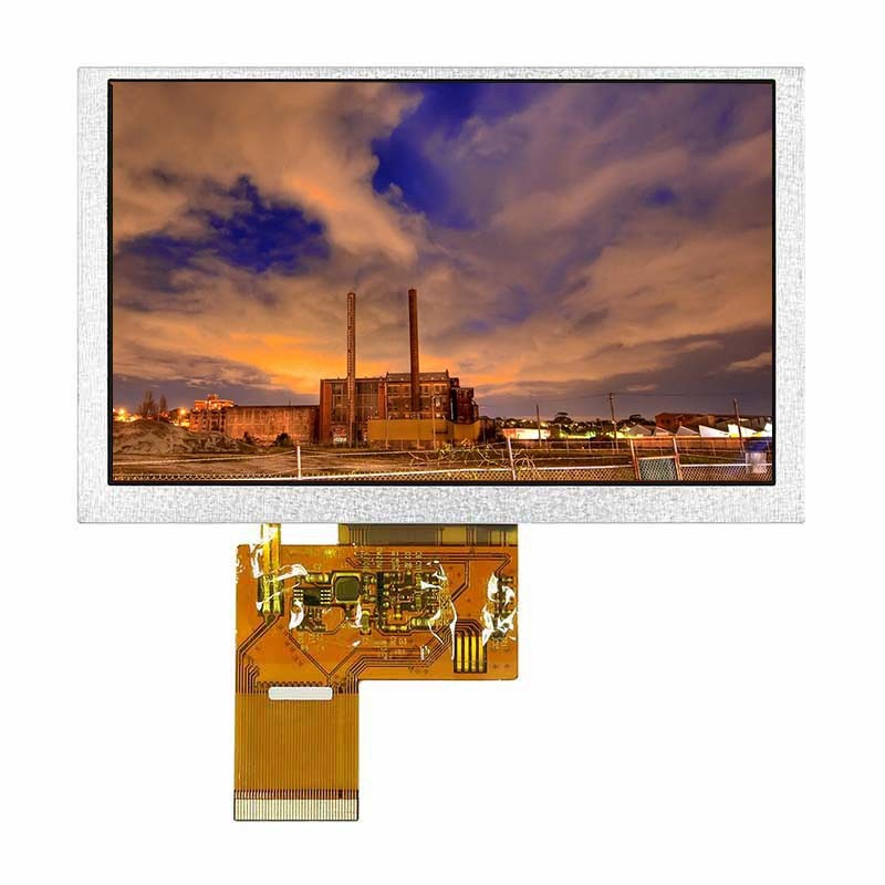 5.0 Inch Lcd Display With 480*272 Resolution Tft Lcd Screen Module