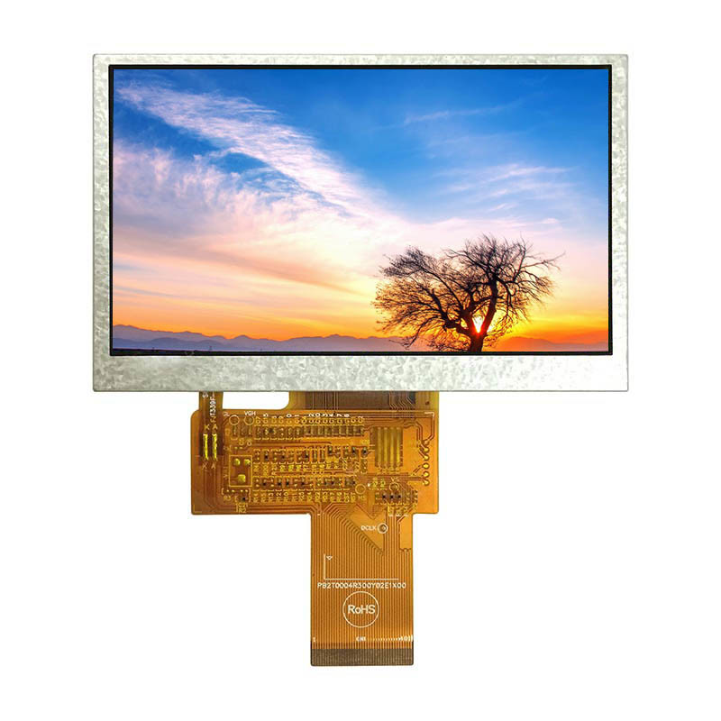 Standard product IPS panel with capacitive touch screen 4.3 inch TFT display module