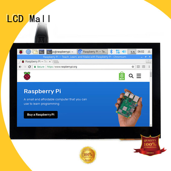 LCD Mall workable tft lcd module resistive for elevator
