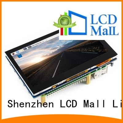 LCD Mall embedded touch screen fully functional software for tablets