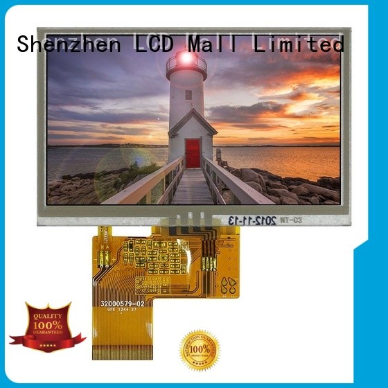 durable tft touch screen resistant for gps LCD Mall