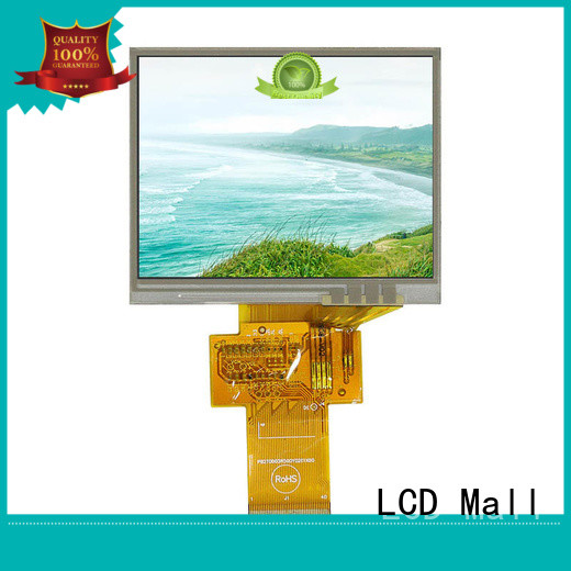 LCD Mall good brightness tft touch screen with resistance touch for tv