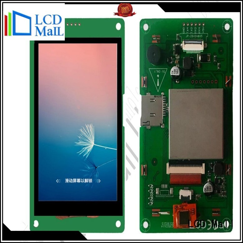 LCD Mall embedded display for business