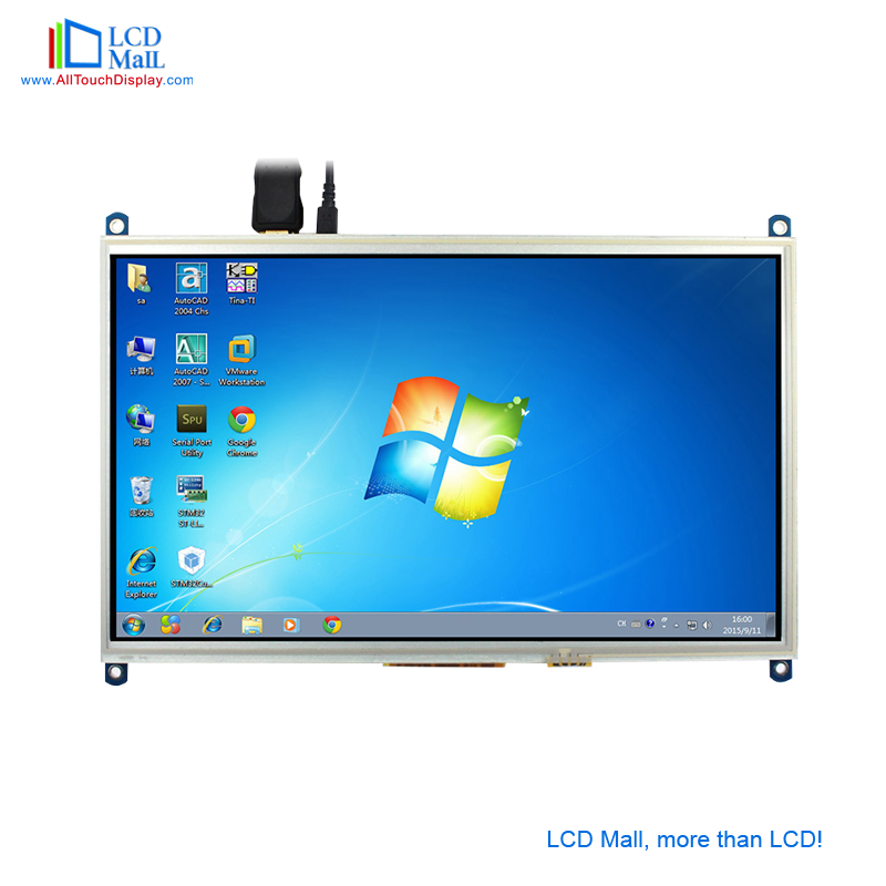 Custom LCD screen raspberry pi 3 display capacitive LCD Panel Monitor touch panel