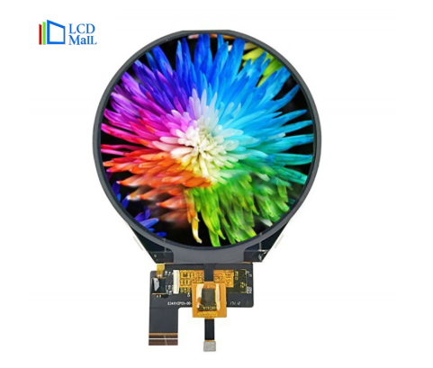 3.4 inch round display LCD