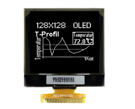 1.69'' Passive Matrix OLED display