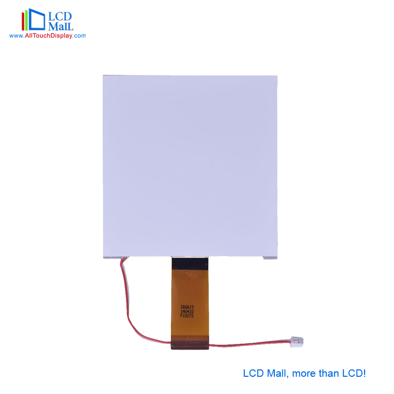 LCD Module 128*128 Dots , DFSTN (Black-White), Transmissive / Negative.