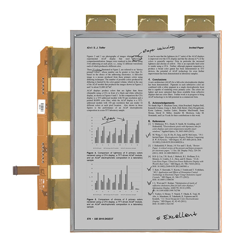 13.3 inch Standard E-paper Module, Electronic Paper display 1600x1200